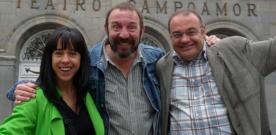 Laura Iglesia, José Antonio Lobato, Andrés Presumido: Lo suyo es puro teatro