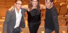 Xosé Ambás, Anabel Santiago, Ismael Mª. Gonz. Arias: Revolución na tradición