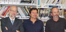 Alfonso Toribio, Jovino Martínez, Roberto Alonso: Construyendo la biblioteca del futuro