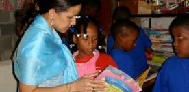 Maletas cargadas de libros para Sudamérica