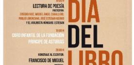 Día del Libro: Lectura de poesía y entrega del IV Concurso de Microrelatos en la Biblioteca de Asturias
