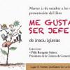 """El Ateneo Jovellanos acoge la presentación de """"Me gusta ser jefe"""" de Inaciu Iglesias"""