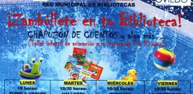 Actividades de verano en la Red de Bibliotecas Municipales de Oviedo