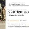 Presentación en Gijón de 'Corrientes de amor' de Ovidio Parades