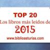 Los libros más leídos en nuestras bibliotecas (2015)