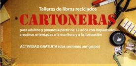 'Cartoneras', talleres de libros reciclados en Gijón