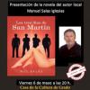 El autor local Nel Salas presenta novela en Grau
