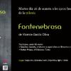 Presentación triloxía 'Fontenebrosa' de Vicente García Oliva