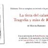 Presentación de 'La tinta del calamar' de Miguel Barrero