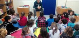 Colaboración entre la Biblioteca Pública y la AMPA del Colegio Público de Infiesto