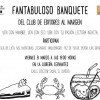 Fantabuloso Banquete Literario del 'Club de Editores al Margen'