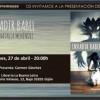 Presentación de 'Invadir Babel' de Natalia Menéndez