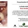 Presentación de 'La boda alada', de Rosa Serdio