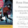 Rosa Huertas presenta 'La sonrisa de los peces de piedra'