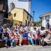 Leer une.  Impresiones del intercambio de visitas entre los clubes de Castropol y Candás