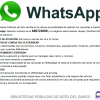 Servicio de WhatsApp en las Bibliotecas Públicas de Soto del Barco