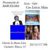 Presentación de 'Barceloba' de Agustín King