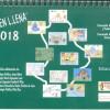 Presentación del calendario ilustrado 2018 'Vivir en Lena'