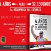 Saúl Craviotto presenta su libro '4 años para 32 segundos'
