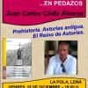 Juan Carlos Cádiz Álvarez presenta 'La historia de Asturias… en pedazo'