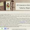 Convocado el III Concurso Literario 'Salud y mujer'