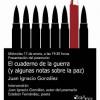 Presentación de 'El cuaderno de la guerra' de Juan Ignacio González