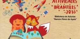 Actividades infantiles en la Biblioteca de Asturias