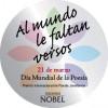 Iniciativa 'Al mundo le faltan versos' de Ediciones Nobel