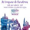IV Congreso de Escritores en Gijón del 28 al 30 de abril
