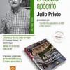Presentación de 'El escritor apócrifo' de Julio Prieto