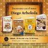 Diego Arboleda en la librería El Búho Lector