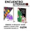 Monse Lasconi y Cristina Martínez en La Buena Letra de Gijón