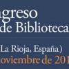 Abierto el plazo de inscripción del IX Congreso de Bibliotecas Públicas