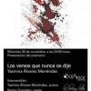 Presentación de 'Los versos que nunca os dije' de Yasmina Álvarez