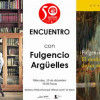Encuentro con Fulgencio Argüelles en la Biblioteca de Roces (Gijón)