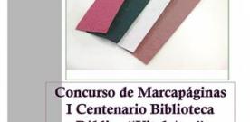 La Red de Bibliotecas Públicas de Mieres convoca un concurso de marcapáginas