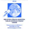 XVI Concurso de Marcapáginas de la Biblioteca de Candás
