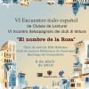 VI Encuentro italoespañol de clubes de lectura/ VI Incontro italospagnolo dei club di lettura