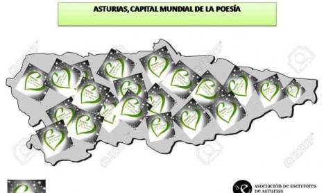 Asturias, Capital Mundial de la Poesía