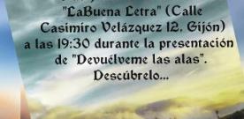 Presentación de 'Devuélveme las alas' de Reyes Martínez