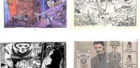 Exposición de Andrés G. Leiva (XXIV Jornadas del Cómic de Avilés)