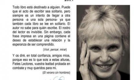 Siri Hustvedt en la semana de los Premios Princesa de Asturias 2019