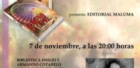 Presentación de 'Benceno en la piel' de Román Sanz Mouta