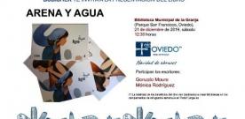 Mónica Rodríguez presenta 'Arena y agua'