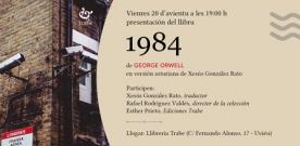 Preséntase la traducción al asturianu de '1984′ de George Orwell