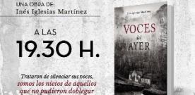 Presentación en Grau de 'Voces del ayer' de Inés Iglesias Martínez