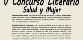 Convocado el V Concurso Literario 'Salud y mujer'