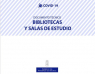 Guía de actuación en bibliotecas de Asturias COVID-19