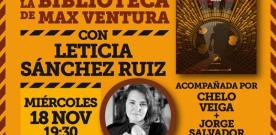 Encuentro virtual con Leticia Sánchez Ruiz