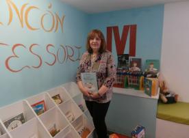 Cristina Álvarez Alonso, bibliotecaria de Luarca